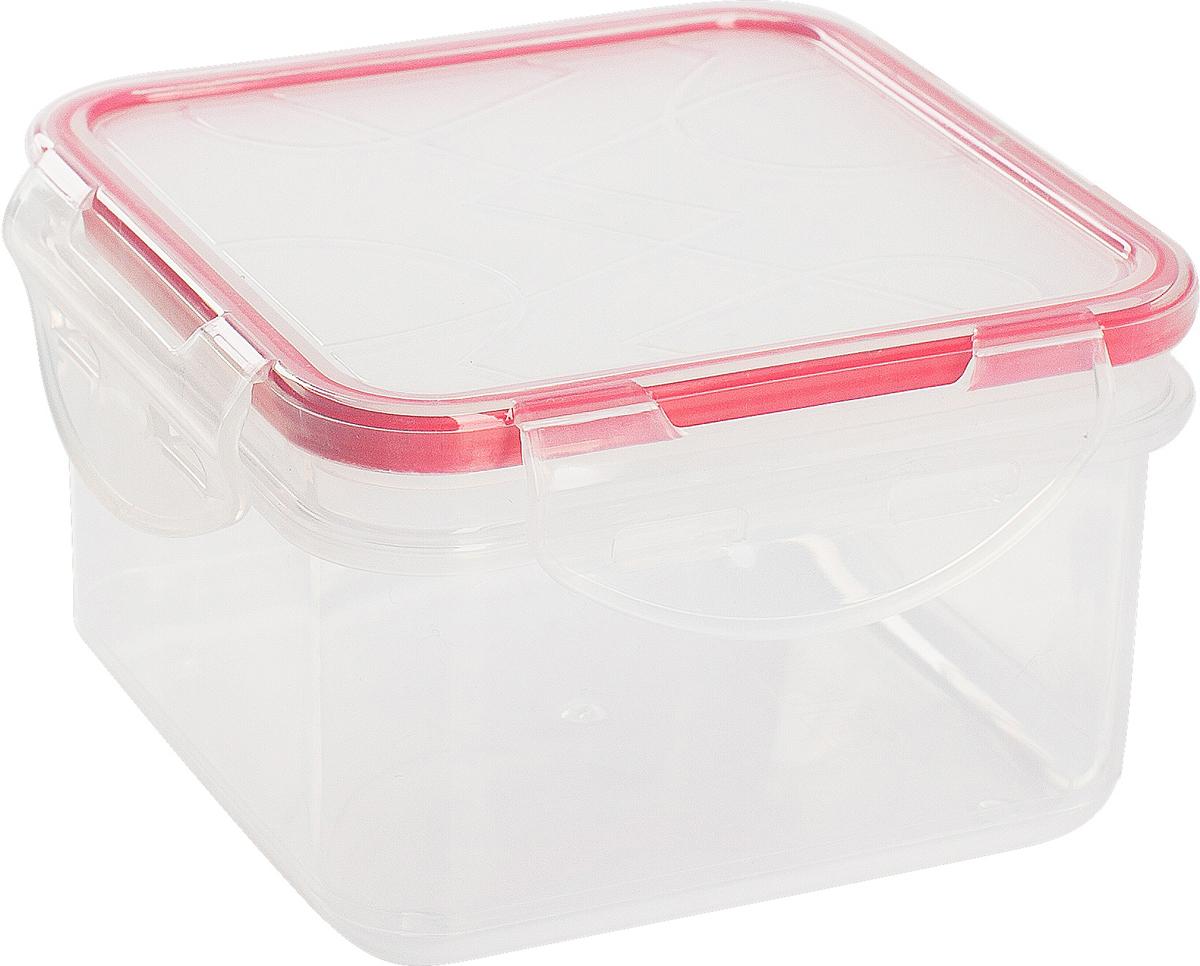 Контейнер для продуктов Giaretti Clipso, квадратный, цвет: черри, 1,2 лGR1845ЧЕРИГерметичный контейнер от Giaretti имеет целый ряд преимуществ: благодаря надежным замкам ваша еда надежно и герметично упакована, ее легко взять с собой без опасения пролить содержимое; контейнер подходит для хранения продуктов в морозильной камере, а также для разогрева в микроволновой печи; благодаря воздухонепроницаемой крышке продукты хранятся дольше; разные литражи и формы контейнеров.