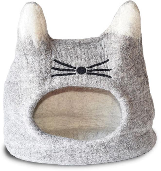 Домик для животных Dharma Dog Karma Cat  Кот , цвет: природный - Лежаки, домики, спальные места