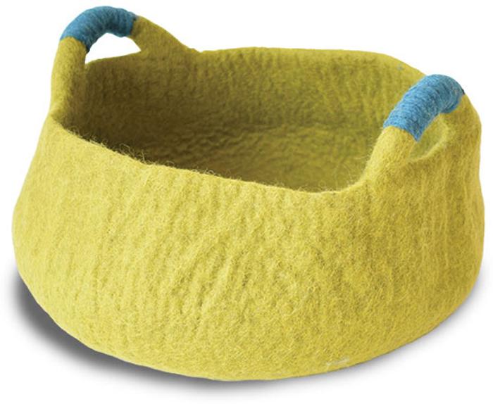 Корзина для животных  Dharma Dog Karma Cat , цвет: зеленый, диаметр 20 дюймов - Лежаки, домики, спальные места