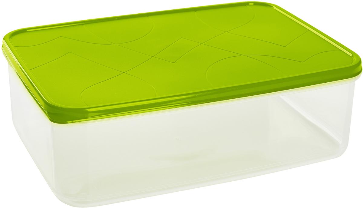 Контейнер для продуктов Giaretti Vitamino, прямоугольный, цвет: оливковый, 2,5 лGR1852ОЛПоложить в холодильник остатки еды, взять с собой обед в дорогу, заморозить овощи на зиму -все это можно сделать с контейнером Vitamino. Контейнер можно использовать для заморозки ихранения продуктов. Подходят для микроволновой печи. А благодаря плотной полиэтиленовойкрышке еда дольше сохраняет свою свежесть.