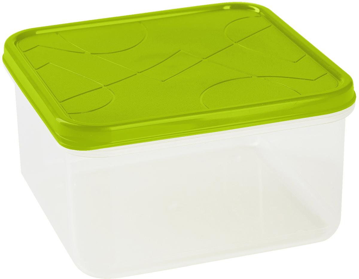 Контейнер для продуктов Giaretti Vitamino, квадратный, цвет: оливковый, 1,2 лGR1855ОЛПоложить в холодильник остатки еды, взять с собой обед в дорогу, заморозить овощи на зиму –все это можно сделать с контейнером Vitamino. Контейнер можно использовать для заморозки ихранения продуктов. Подходят для микроволновой печи. А благодаря плотной полиэтиленовойкрышке еда дольше сохраняет свою свежесть.