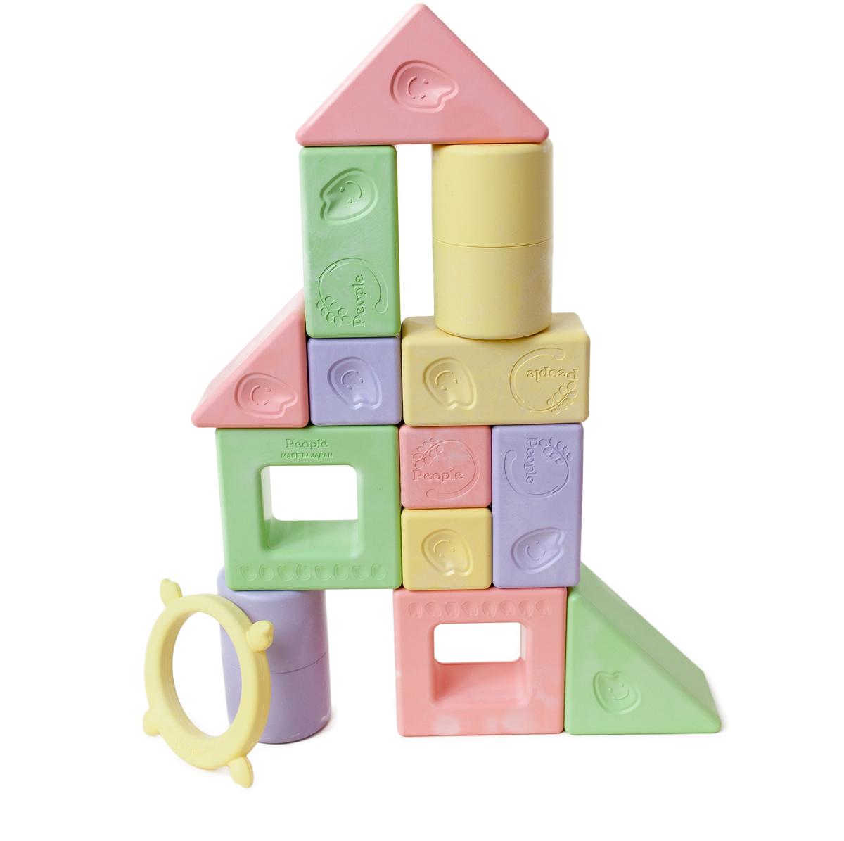 People Развивающая игрушка Премиум- набор кубиков Мотти книги эксмо gakken развивающие игры для детей от рождения до 1 года