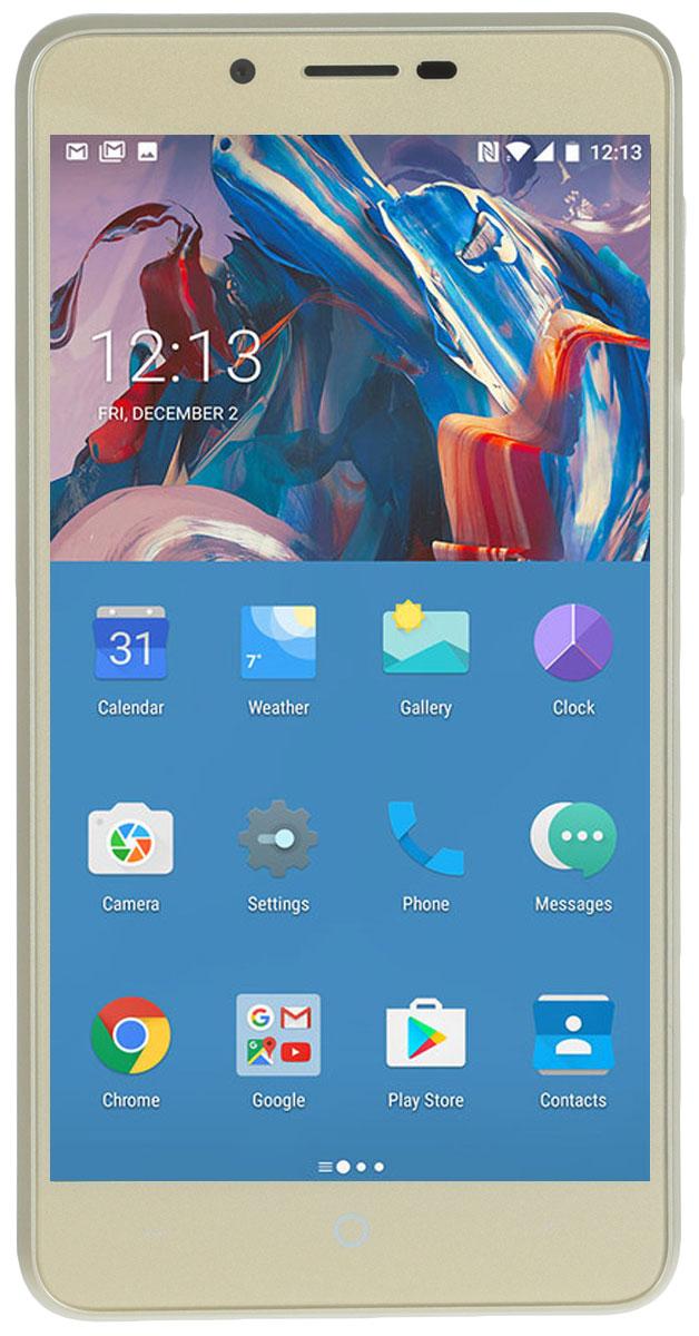 Смартфон Vertex Impress Lion Dual Cam 3G, Gold