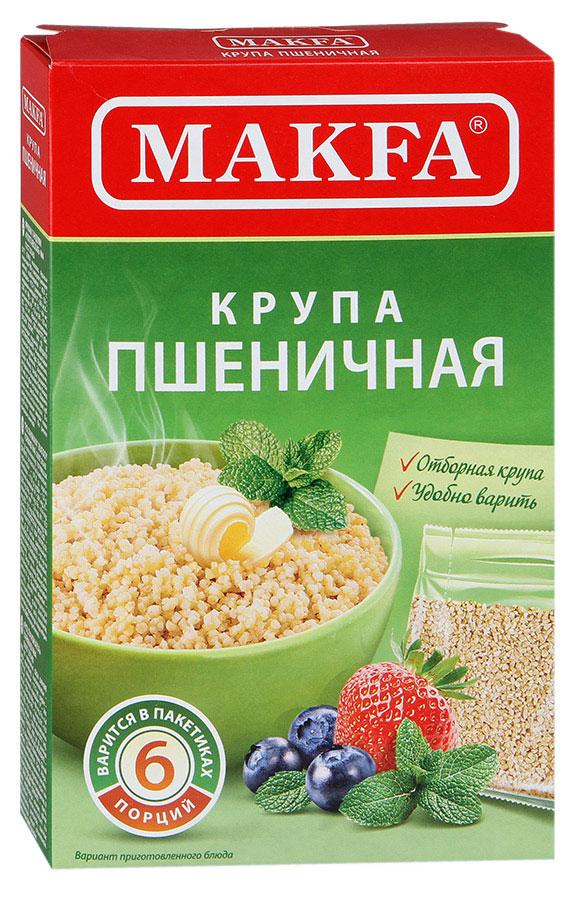 Makfa Полтавская №4 пшеничная крупа в пакетах для варки, 400 г105-4Пшеничная крупа MAKFA делается исключительно из твердых сортов пшеницы, что делает приготовленные из нее каши не только вкусными, но и полезными. Уважаемые клиенты! Обращаем ваше внимание на возможные изменения в дизайне упаковки. Поставка осуществляется в зависимости от наличия на складе. Лайфхаки по варке круп и пасты. Статья OZON Гид