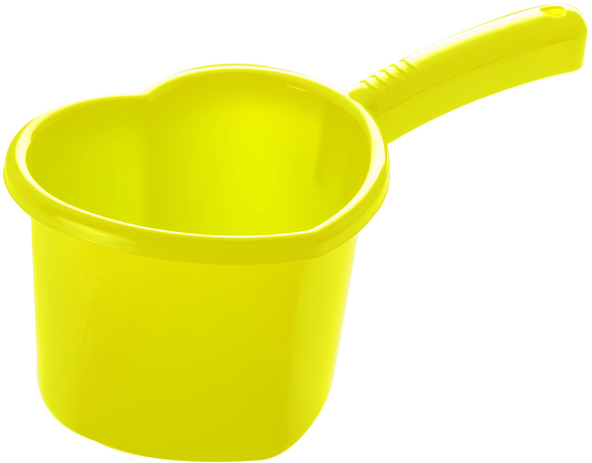 Ковш Plastic Centre Сердечко, цвет: лимон, 1,5 лПЦ1812ЛМН;ПЦ1812ЛМННаш универсальный ковш всегда пригодится в доме. Привлекательная форма в виде сердечка и яркие цвета приятно порадуют хозяйку.
