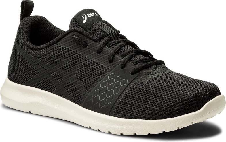 Кроссовки мужские Asics Kanmei MX, цвет: черный. T849N-9090. 9 (41)T849N-9090Если вам необходима универсальная обувь для тренировок, KANMEI MX – ваш выбор. Эту стильную модель с тканевым верхом и бесшовными верхними слоями можно носить каждый день, так как она отличается легкостью и воздухопроницаемостью.Промежуточная подошва EVA придает минималистскому дизайну форму и функциональность, а классический фирменный логотип делает модель стильной.