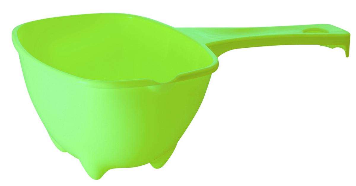 Ковш прямоугольный Plastic Centre Organiq, цвет: лайм, 1,6 л