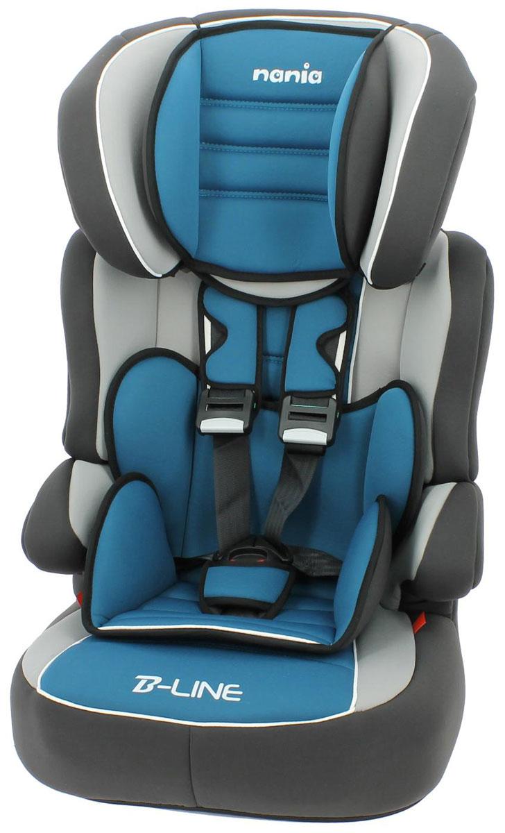 Nania Автокресло Beline SP LX agora petrole583009Автокресло Nania Beline SP относится кгруппе 1/2/3, от 8 месяцев до 12 лет (9 - 36 кг). Соответствует стандартам ECE R44/04. Nania Beline SP - это два кресла в одном. Оно охватывает все возрастные группы в возрасте примерно от 8 месяцев до 12 лет (когда ребенка вавтомобиле уже можно перевозить без специального удерживающего устройства) благодарярегулируемой по высоте спинке. Когда ребенокподрастет, спинку автокресла можно отстегнуть и использовать только бустер.Автокресло nania Beline SP было разработано согласно самым жестким требованиям безопасности, а также учитывая ортопедические факторы:мягкая приятная на ощупь обивка и анатомичная форма. Ваш ребенок будет чувствовать себя комфортно даже в дальних поездках. Широкие мягкие подголовник, спинка и подлокотники обеспечат дополнительный комфорт и безопасность маленького пассажира даже в случаебокового столкновения. Высоту подголовника можно регулировать по высоте, кресло растет вместе с Вашим ребенком.Все тканевые части легко снимаются и стираются. Серия LUXE - для самых требовательных. Кресло nania Beline SP Luxe имеет дополнительную подушку в районе таза, а обивка - больше поролона,что обеспечит ребенку максимальный комфорт.