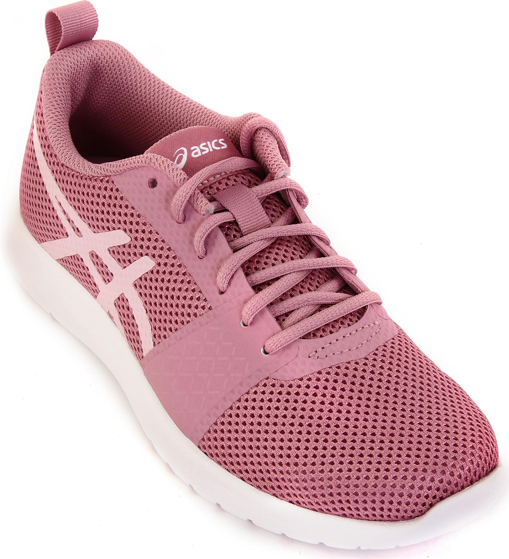 Кроссовки женские Asics Kanmei MX, цвет: розовый. T899N-2020. 8 (38)T899N-2020Если вам необходима универсальная обувь для тренировок, Asics Kanmei MX – ваш выбор. Эту стильную модель с тканевым верхом и бесшовными верхними слоями можно носить каждый день, так как она отличается легкостью и воздухопроницаемостью.Промежуточная подошва EVA придает минималистскому дизайну форму и функциональность, а классический фирменный логотип делает модель стильной.