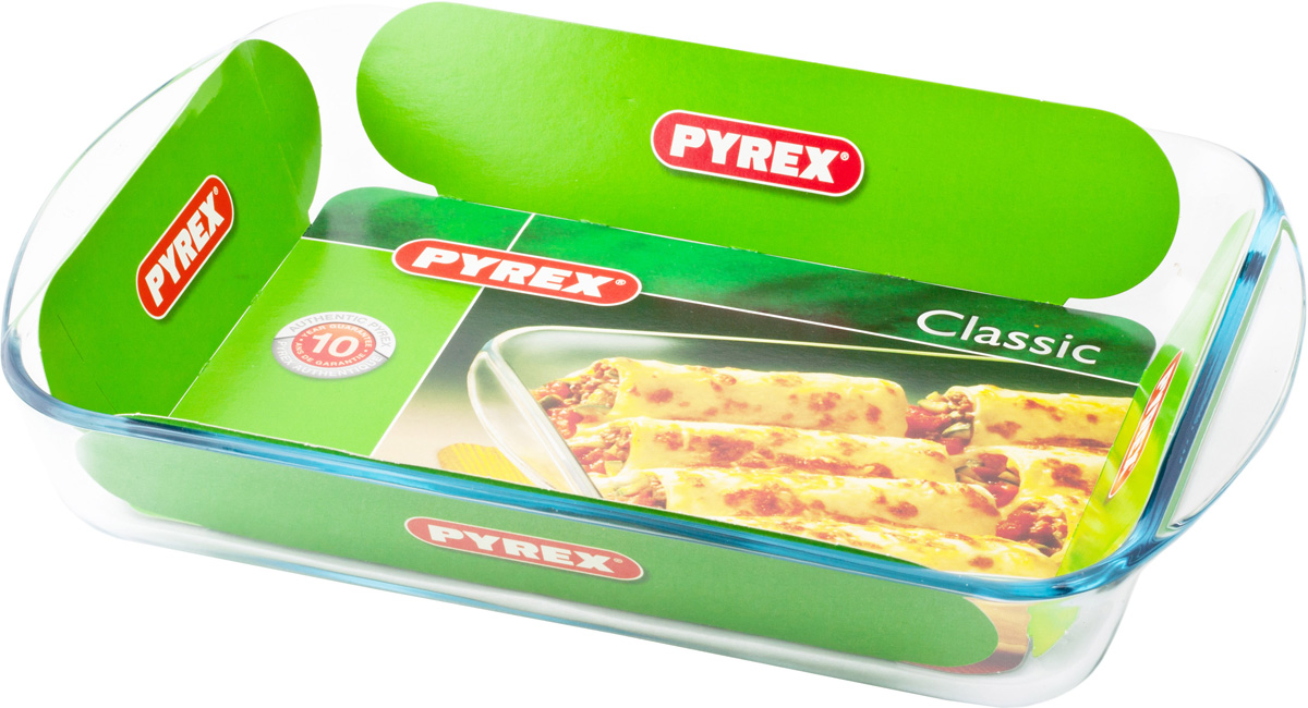 Блюдо прямоугольное Pyrex Smart Cooking, 35 x 23 см234B000/5046Прямоугольное блюдо Pyrex Smart Cooking подойдет для запекания пищи и подачи готовых блюд. Блюдо изготовлено из прочного стекла и имеет ручки для удобства подачи приготовленного продукта.