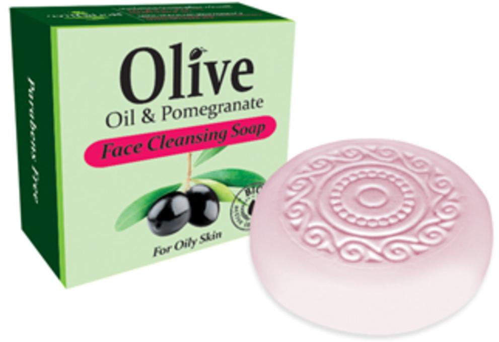 HerbOlive Мыло для умывания с экстрактом граната для жирной кожи 100 г5200310401831Мыло для умывания с экстрактом граната содержит в своем составе природные антиоксиданты которые содержатся воливковом масле увлажняют ипитают кожу. Натуральное оливковое мыло, производится безискусственных красителей ихимических добавок, стимулируют новые клетки крегенерации изамедляет старение. Втожевремя смягчает кожу иоблегчает многие заболевания, включая акне, экзему.
