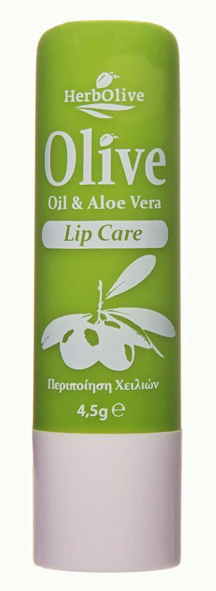 HerbOlive Гигиеническая губная помада с алоэ-вера 4,5 г