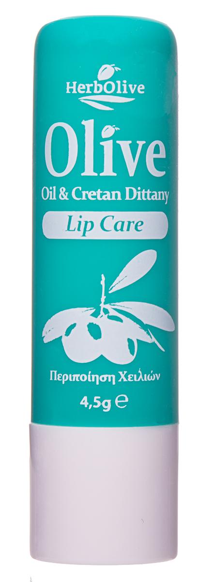 HerbOlive Гигиеническая губная помада с диктамосом (критская душица) 4,5 г