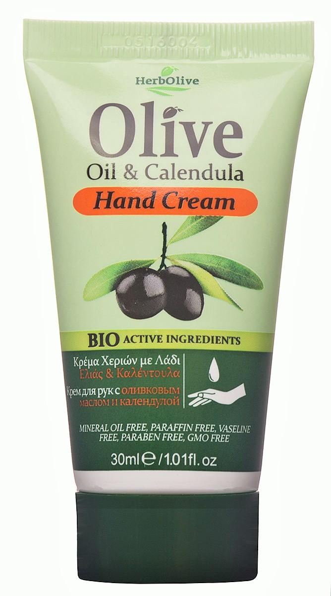 HerbOlive Мини крем для рук с экстрактом календулы 30 мл5200310402616Крем для рук с экстрактом календулы идеален для ежедневного ухода. Содержит экстракт календулы,с давних времен известным своими целебными свойствами, органическое оливковое масло,экстракт алоэ-вера. Обеспечивает глубокое увлажнение ваших руках, делает их гладкими имягкими.