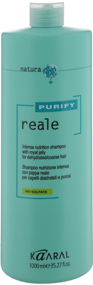 Kaaral Восстанавливающий шампунь для поврежденных волос Purify Reale Intense Nutrition Shampoo, 1000 мл1237Восстанавливающий Реале шампунь для поврежденных волос Kaaral Purify Reale Intense Nutrition Shampoo разработан для ухода за сухими, пористыми и поврежденными волосами. Идеален для деликатного очищения кожи и волос с увлажняющим эффектом. Оставляет волосы мягкими и предупреждает дегидратацию волос. Не содержит сульфаты и парабены!