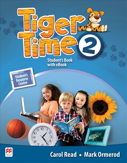 Tiger Time Level 2 Student Book + eBook Pack escape to wonderland a colouring book adventure