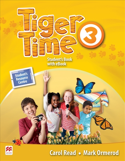 Tiger Time Level 3 Student Book + eBook Pack daniels z english download c1 student book ebook