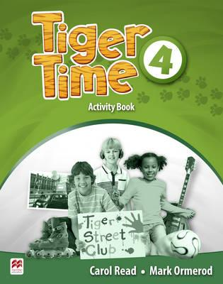 Tiger Time Level 4 Activity Book christmas colouring and activity book