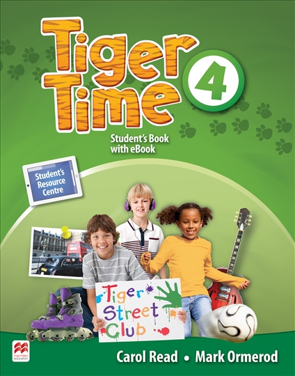 Tiger Time Level 4 Student Book + eBook Pack new 6 inch for amazon ebook kindle 4 pvi ed060scf lf t1 e ink lcd display for amazon kindle 4 ebook reader free shipping
