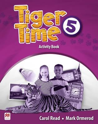 Tiger Time Level 5 Activity Book christmas colouring and activity book