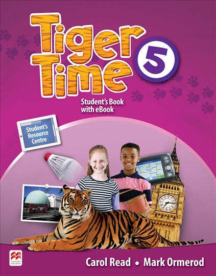 Tiger Time Level 5 Student Book + eBook Pack escape to wonderland a colouring book adventure