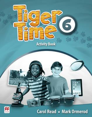 Tiger Time Level 6 Activity Book space activity book level 4