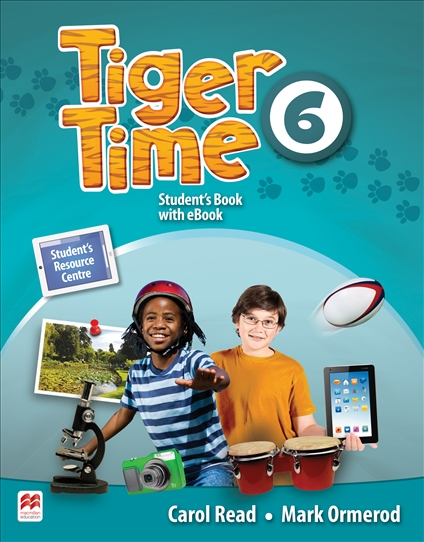 Tiger Time Level 6 Student Book + eBook Pack new 6 inch for amazon ebook kindle 4 pvi ed060scf lf t1 e ink lcd display for amazon kindle 4 ebook reader free shipping