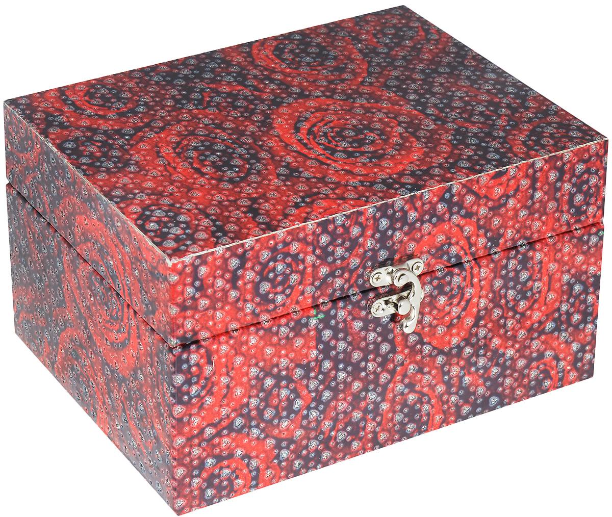 Шкатулка декоративная Bestex Розы, 22 x 15 x 12 смYQ16245Шкатулка декоративная Bestex Розы, 22 x 15 x 12 см