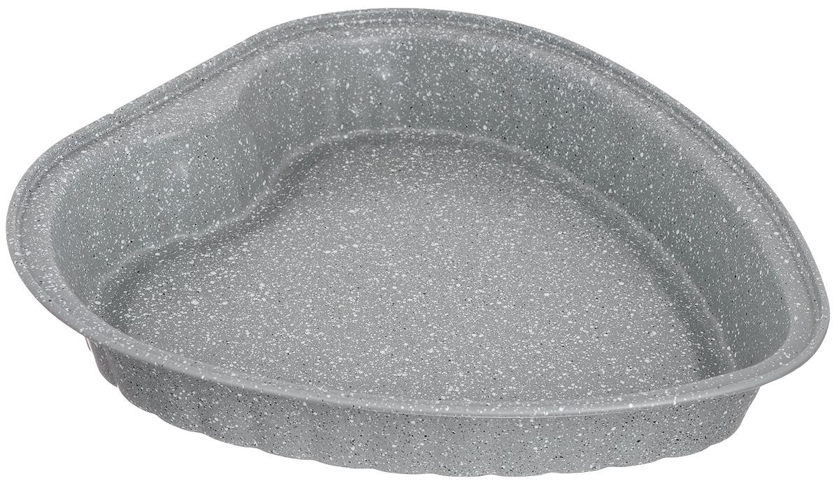 Форма для выпечки Rainstahl, цвет: серый, 27,5 х 27 х 4,5 см. 9720 RS\BT MRB9720 RS\BT MRB_серыйКруглая форма для выпечки Rainstahl выполнена с мраморным антипригарным покрытием. Основной плюс посуды этого типа заключается в том, что эта посуда не перегревается,соответственно не разрушается антипригарный слой.Мраморное покрытие делает возможным приготовление блюд без масла. Оно обладаетповышенной стойкостью к царапинам и внешним воздействиям.Такая посуда незаменима для приготовления запеканок, всевозможных блюд из мяса и овощей, атак же выпечки теста и изысканных кондитерских блюд.