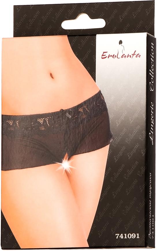 Трусы женские Erolanta Lingerie Collection, цвет:  черный.  741091.  Размер 46/48 Erolanta