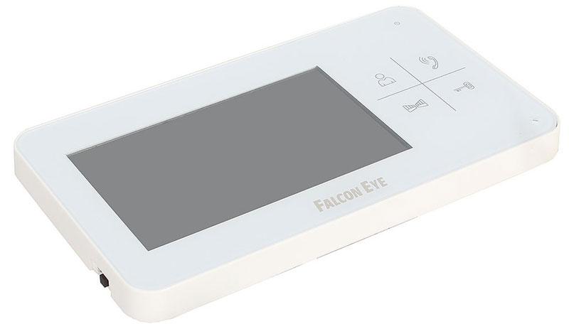 Falcon Eye FE-40C видеодомофонFE-40CВидеодомофон Falcon Eye FE-40C имеет цветной экран 4,3 дюйма, сенсорные кнопки. Возможно подключение 2-х вызывных панелей. Приборимеет приятный дизайн, удобный интерфейс. Главной отличительной особенностью данной модели являютсяминиатюрные габаритные размеры. Возможность подключения к подъездному координатному и цифровому домофону (с помощью блокасопряжения). Домофон имеет встроенный блок питания, что позволяет без проблем запитать его от сети 220В. Кроме этого, устройствоальтернативно может быть запитано от внешнего БП DC14.5В (например, для подключения домофона к резервированному источнику питания).Подключение: Подключение FE-40C к координатному подъездному домофону происходит с помощью блоков сопряжения: MC-Vizit и МСК – к координатным системам домофонов(Vizit, Cyfral, Элтис и аналоги) MC-XL и МСЦ – к цифровым системам домофонов(RAIKMANN, KEYMANN, FELMANN, LASKOMEX, PROEL.MARSHAL и аналоги).