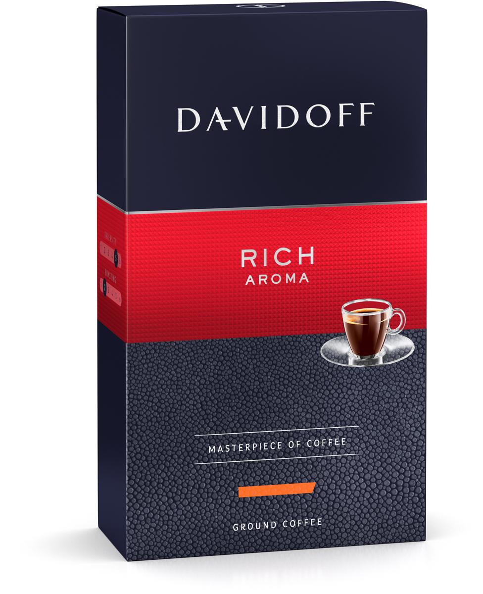 Davidoff Rich кофе молотый, 250 г4898Кофе Davidoff Cafe Grande Cuvee- это истинный шедевр кофейного искусства, созданный сомелье Davidoff Cafe. Для создания этих совершенных кофейных композиций используются только специально отобранные зерна сорта Арабика. Безупречное качество этого кофе покорит самых искушенных ценителей. Davidoff Cafe Rich Aroma - это восхитительное сочетание насыщенного вкуса с элегантной кислинкой, дополненное пикантными, легкими фруктовыми нотками.Кофе: мифы и факты. Статья OZON Гид