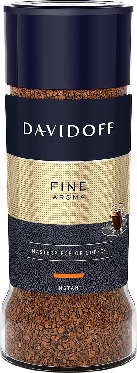 Davidoff Fine кофе растворимый, 100 г туалетная вода davidoff cool davidoff туалетная вода davidoff cool