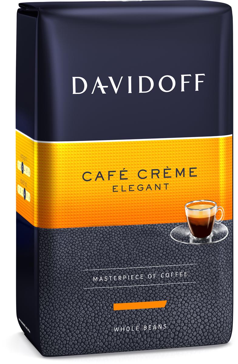Davidoff Cafe Creme кофе в зернах, 500 г туалетная вода davidoff cool davidoff туалетная вода davidoff cool