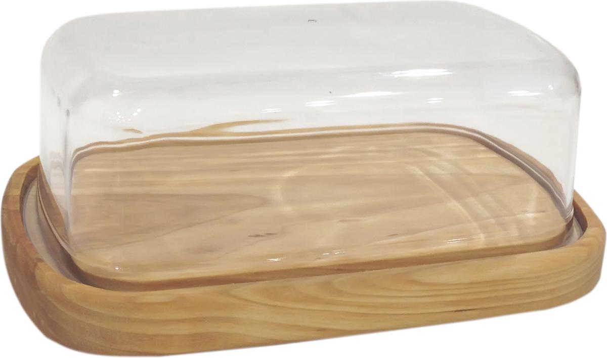 Масленка Giaretti NaturaGR1047НАТМасленка Giaretti Natura, выполненная из пластика, предназначена для красивой сервировки и хранения масла. Она состоит из подноса и крышки. Масло в ней долго остается свежим, а при хранении в холодильнике не впитывает посторонние запахи. Масленка Giarettiидеально подойдет для сервировки стола и станет отличным подарком к любому празднику.