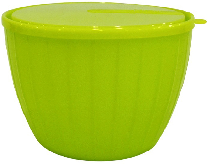 Салатник Giaretti Fiesta, цвет: оливковый, 600 млGR1819ОЛСалатник с крышкой Giaretti Fiesta, выполненный из пищевого пластика, прекрасно подойдет как для приготовления еды, так и для подачи блюд на стол. Этот материал поможет ему служить дольше, а оригинальный дизайн в оливковом цвете создаст уютную атмосферу на кухне.