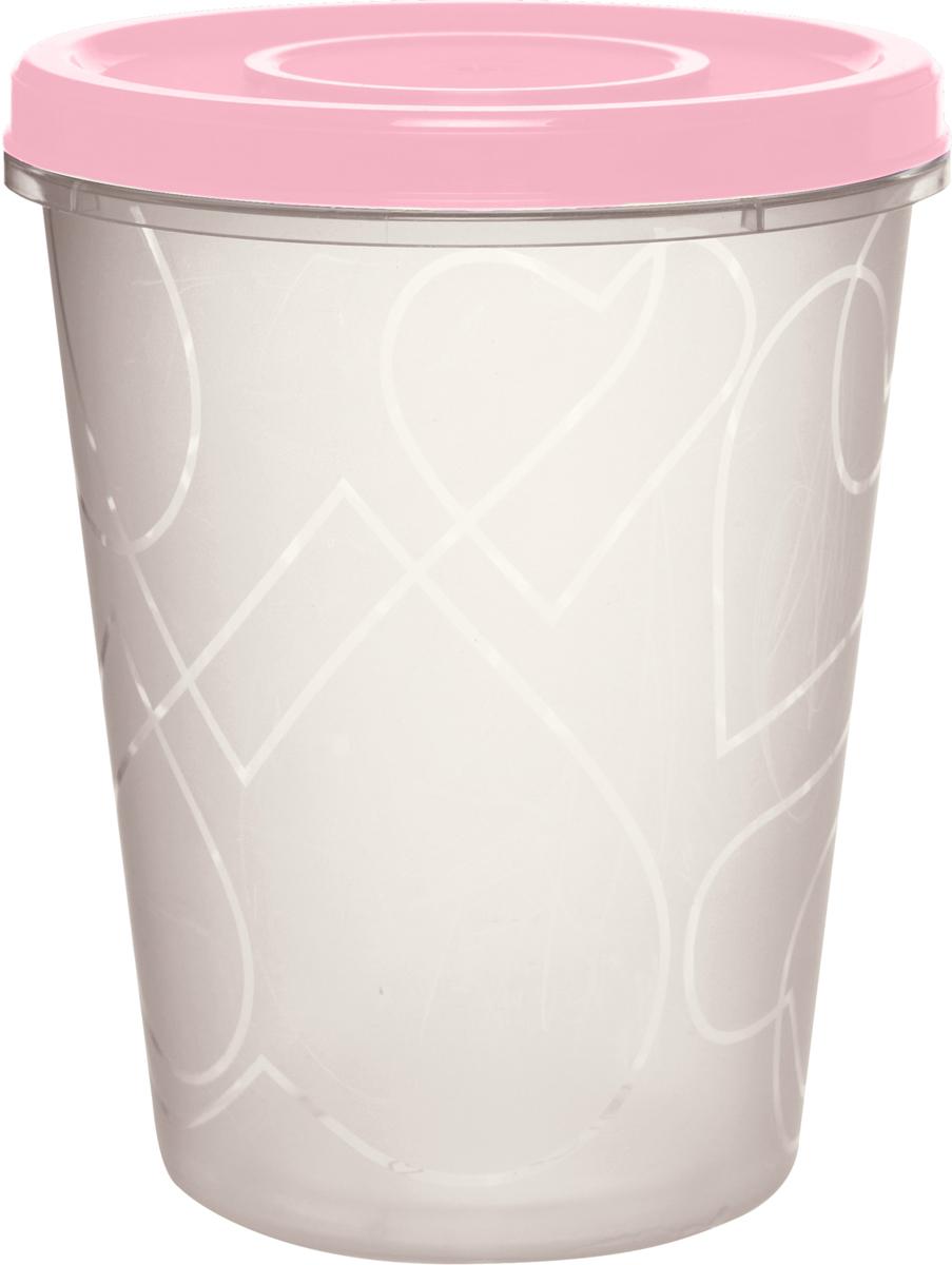 Емкость для продуктов Giaretti, цвет: клубничный лед, с завинчивающейся крышкой, 1 лGR1889КЛЕмкость для продуктов Giaretti изготовлена из пищевого полипропилена. Крышка хорошо завинчивается, дольше сохраняя продукты свежими. Боковые стенки прозрачные, что позволяет видеть содержимое.Емкость идеально подходит для хранения пищи, фруктов, ягод, овощей.Такая емкость пригодится в любом хозяйстве.