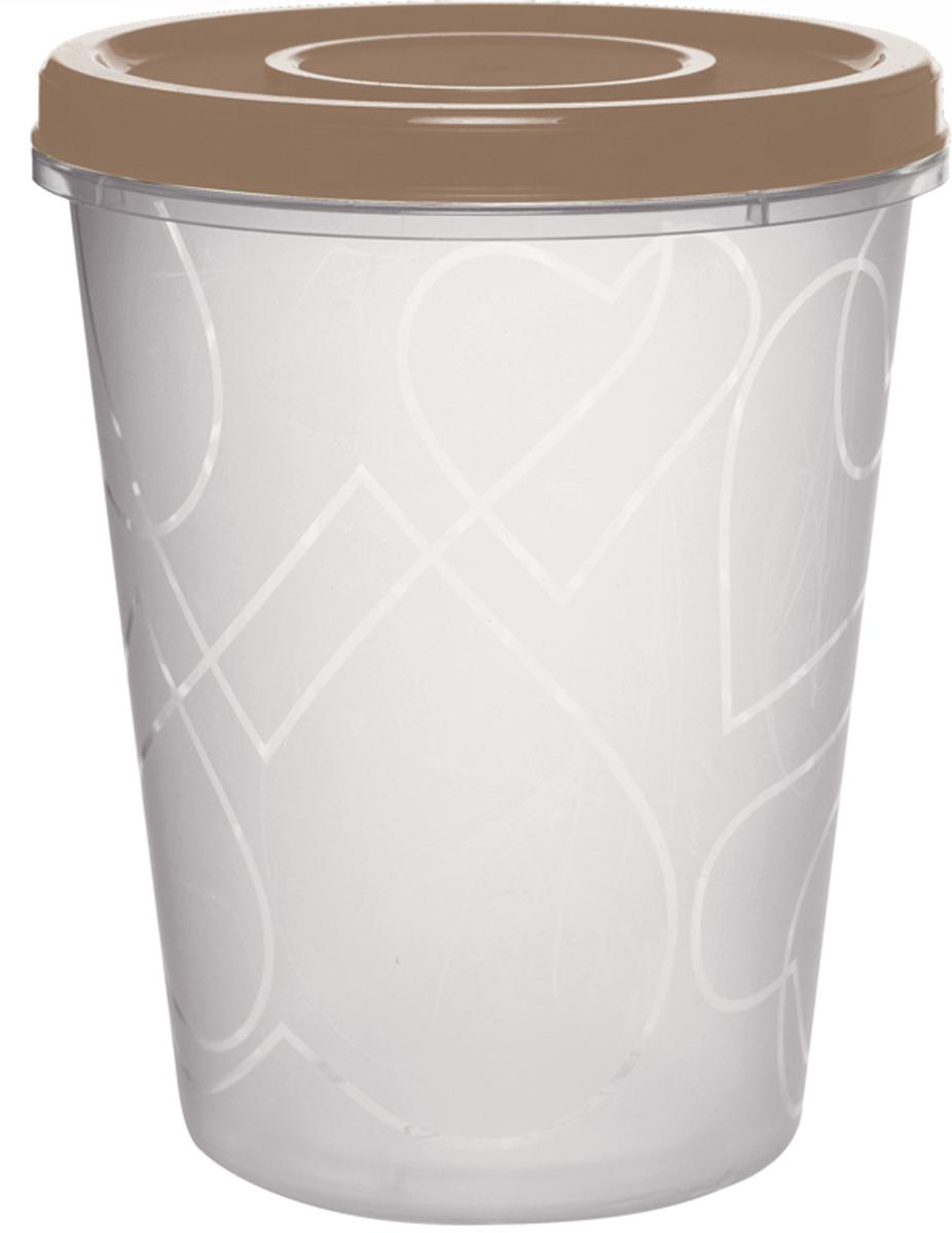 Емкость для продуктов Giaretti, цвет: бежевый, с завинчивающейся крышкой, 1 лGR1889МИКС-ЗМЕмкость для продуктов Giaretti Микс зима изготовлена из пищевого полипропилена. Крышка хорошо завинчивается, дольше сохраняя продукты свежими. Боковые стенки прозрачные, что позволяет видеть содержимое. Емкость идеально подходит для хранения пищи, фруктов, ягод, овощей.Такая емкость пригодится в любом хозяйстве.
