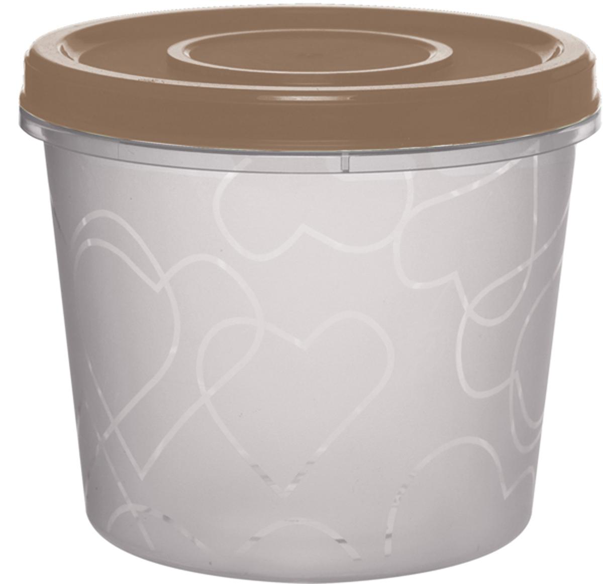 Емкость для продуктов Giaretti, цвет: белый, коричневый, с завинчивающейся крышкой, 700 млGR1888МИКС-ЗМЕмкость для продуктов Giaretti изготовлена из пищевого полипропилена. Крышка хорошо завинчивается, дольше сохраняя продукты свежими. Боковые стенки прозрачные, что позволяет видеть содержимое.Емкость идеально подходит для хранения пищи, фруктов, ягод, овощей.Такая емкость пригодится в любом хозяйстве.