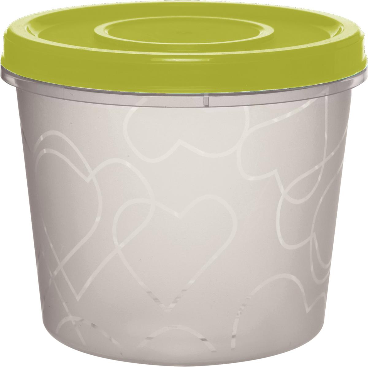 Емкость для продуктов Giaretti, цвет: оливковая роща, с завинчивающейся крышкой, 700 млGR1888ОЛЕмкость для продуктов Giaretti изготовлена из пищевого полипропилена. Крышка хорошо завинчивается, дольше сохраняя продукты свежими. Боковые стенки прозрачные, что позволяет видеть содержимое.Емкость идеально подходит для хранения пищи, фруктов, ягод, овощей.Такая емкость пригодится в любом хозяйстве.