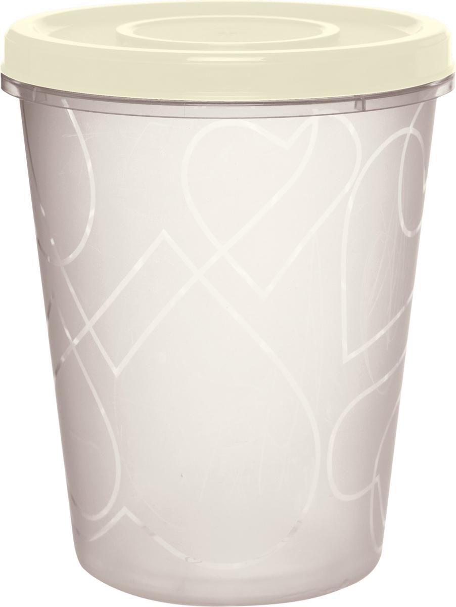 Емкость для продуктов Giaretti, цвет: сливочный крем, с завинчивающейся крышкой 1 лGR1889СЛЕмкость для продуктов Giaretti изготовлена из пищевого полипропилена. Крышка хорошо завинчивается, дольше сохраняя продукты свежими. Боковые стенки прозрачные, что позволяет видеть содержимое.Емкость идеально подходит для хранения пищи, фруктов, ягод, овощей.Такая емкость пригодится в любом хозяйстве.