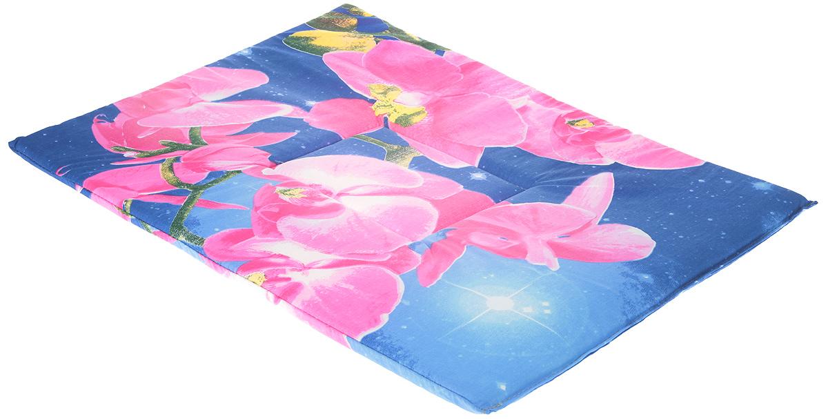Лежак для животных Elite Valley Матрасик, цвет: синий, розовый, 45 х 60 см. Л7/5Л7/5 Лежак-Матрасик _ орхидея на фиолетовомЛежак для животных Elite Valley Матрасик изготовлен извысококачественной бязи.Идеален для переносок и использования в автомобиле.Он станет излюбленным местом вашего питомца,подарит ему спокойный и комфортный сон. Яркий дизайн позволяет лежаку выглядетьпривлекательным даже в период линьки. Матрас легкоскладывается для перевозки и хранения.
