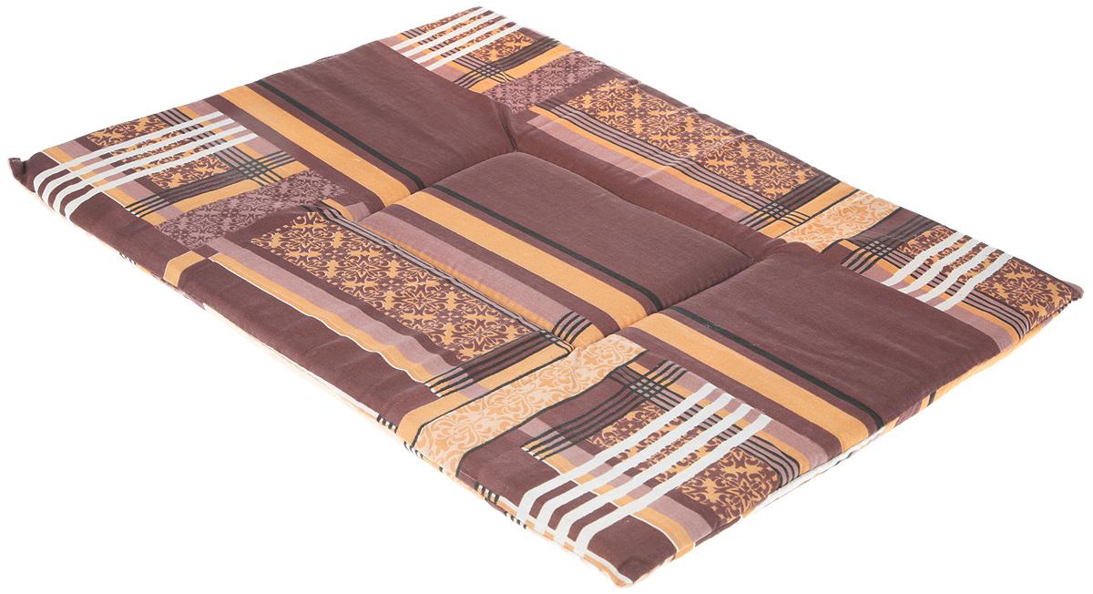 "Лежак для животных Elite Valley ""Матрасик"", цвет: коричневый, 42 х 58 см. Л7/5"