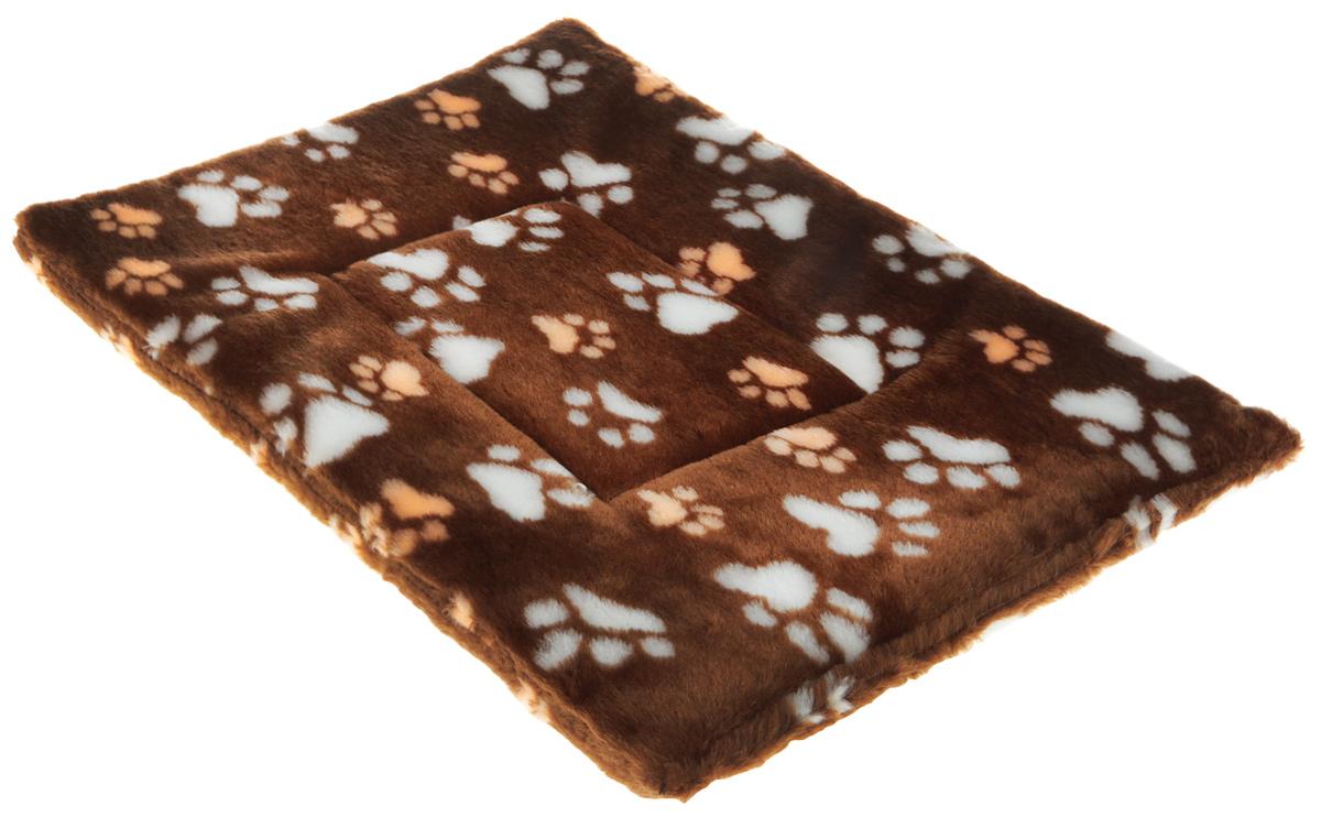 "Лежак для животных Elite Valley ""Матрасик"", цвет: светло-коричневый, бежевый, белый, 40 х 55 см. Л-8/4"