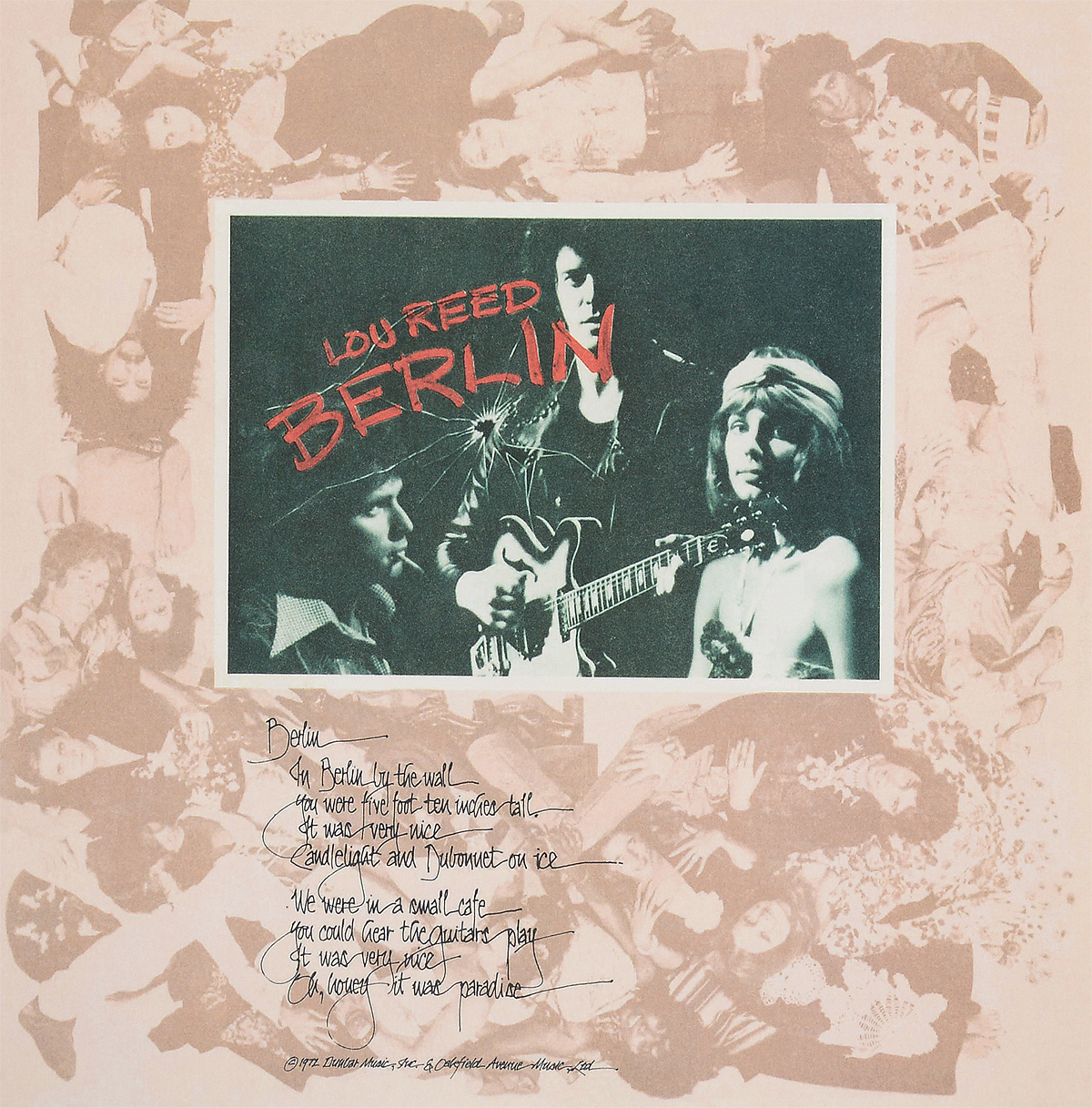Лу Рид Lou Reed. Berlin (LP) lou reed lou reed live in italy 2 lp