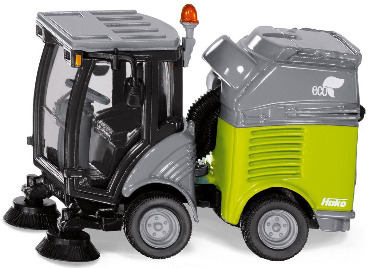 Siku Моющая машина цвет серый зеленый машинки siku мусоровоз 1 50