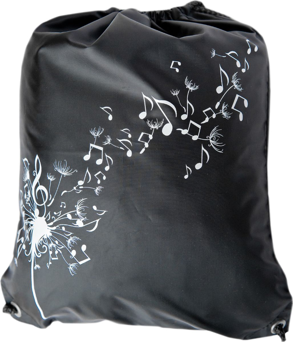 Мешок для обуви Музыка, цвет: черный, 350 х 440 мм00033черМешок для хранения вещей Музыка оформленный в стиле Спорт. Ограниченный выпуск!