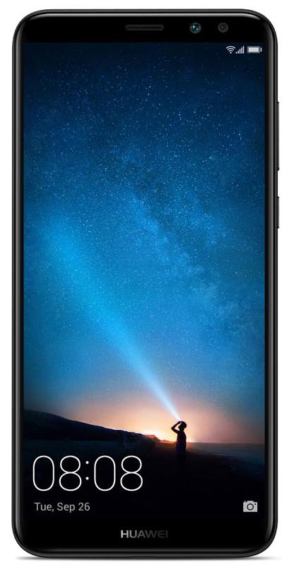 Huawei Nova 2i, Graphite Black (LTE/RNE-L21)51091YGBСмартфон Huawei Nova 2i оснащен безрамочным экраном и имеет современный, элегантный дизайн. Сдиагональю 5,9 и разрешением FHD+ вы по-новому взгляните на мир фильмов, игр, интернета и социальныхсетей.В новом безрамочном смартфоне соотношение размера экрана к корпусу составляет 83%, а соотношениесторон - 2:1, что дает возможность одновременно пользоваться двумя приложения на одном экране.Huawei Nova 2i совершенен во всем. Плавные линии, изящные формы, скругленные края, прочныйметаллический корпус, безрамочный экран - комфорт и удобство в каждой детали.Две двойные камеры Huawei Nova 2i - фронтальная и основная - открывают безграничные возможностифото- и видеосъемки. Делайте великолепные снимки, снимайте захватывающие видео, делитесьвпечатлениями с друзьями!Двойная фронтальная камера Huawei Nova 2i оснащена 13 МП и 2 МП объективами. Камера 13 МП с диафрагмойf/2.0 отвечает за визуализацию изображения, цветная камера 2 МП отвечает за глубину резкости. Врезультате вы получаете отличные селфи высокой четкости с превосходным эффектомбоке.Двойная основная камера Huawei Nova 2i с объективами 16 МП и 2 МП позволяют делать снимки с качественнойвизуализацией изображения и профессиональными фотоэффектами.Для получения великолепного эффекта боке и красочных портретных снимков в двойной фронтальной камереHuawei Nova 2i используется комбинация инновационных объективов и передовой технологии съемки. Простокоснитесь экрана, чтобы настроить фокус и применить размытие фона.Забудьте о плохом освещении! Вспышка на фронтальной камере Huawei Nova 2i с эффектами тонирования идвумя уровнями яркости автоматически подстраивается под окружающее освещение. С высокимкоэффициентом цветопередачи она имитирует солнечный свет, позволяя передавать естественные оттенкина фото. Угол освещения в 120 градусов обеспечивает более широкое световое покрытие.8-ядерный процессор Kirin 659 с тактовой частотой 2,36 ГГц и технологией 16 нм, оперативная память 4 ГБ 
