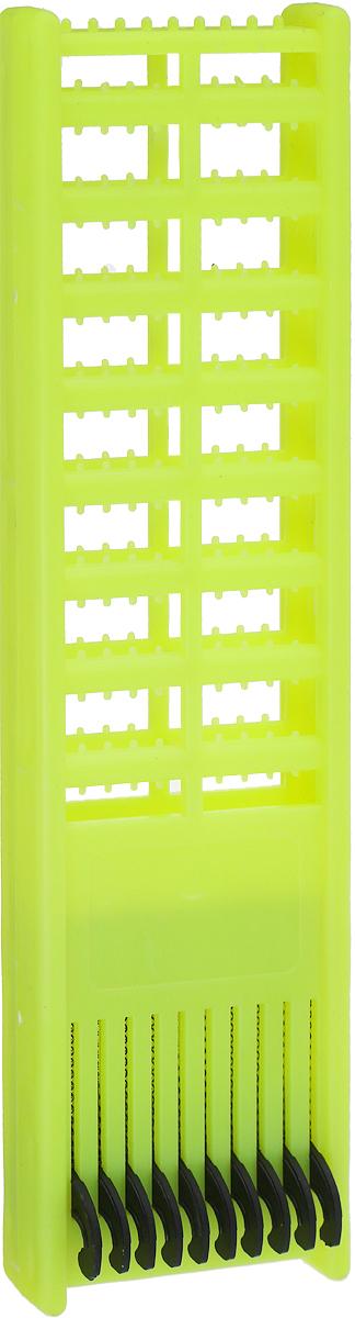 Мотовило AGP, для поводков с пружиной, цвет: желтый мотовило agp для поводков с пружиной цвет желтый