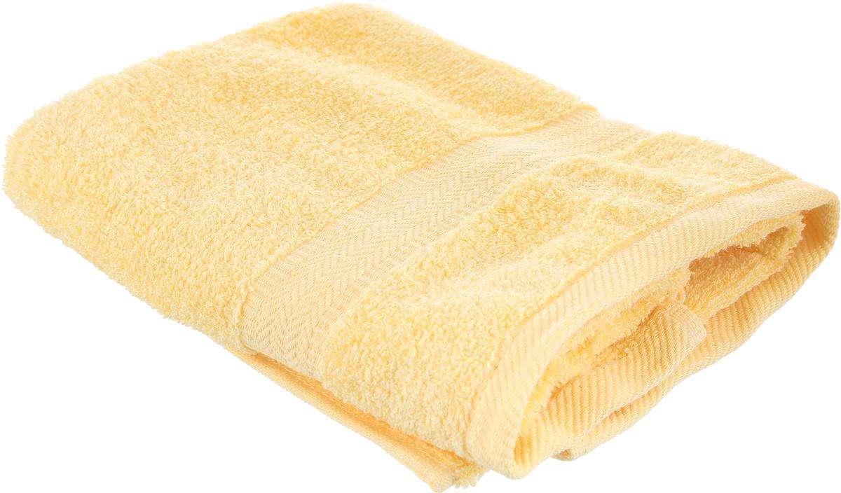 Полотенце Aquarelle Настроение, цвет: желтый, 50 х 90 см. 702503 полотенце махровое aquarelle таллин 1 цвет ваниль 50 х 90 см 707762